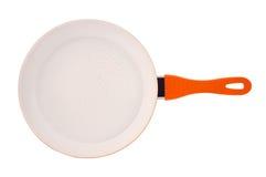 Сковорода с керамическим покрытием стоковая фотография rf