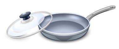 сковорода Стоковое фото RF