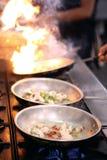 сковороды Стоковые Фотографии RF