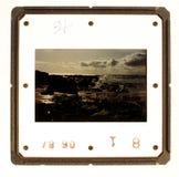 скольжение держателя старое Стоковое фото RF