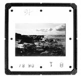 скольжение держателя monochrome старое Стоковые Фото