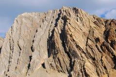 скольжение утеса горы Стоковые Фото