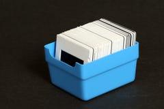 скольжения коробки Стоковое фото RF