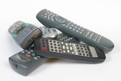 сколько remotes стоковая фотография rf