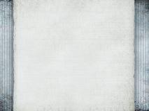 Скомканная бумага на предпосылке grunge Стоковое Изображение RF