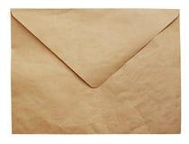 Скомканная бумага ремесла охватывает Стоковая Фотография RF