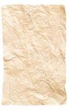 Скомканная бумага Стоковые Изображения RF