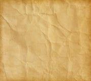 Скомканная бумага Стоковое Изображение