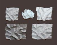 Скомканная бумага Стоковое фото RF