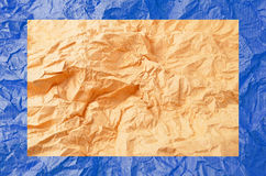 скомканная бумага Стоковая Фотография RF