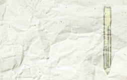 скомканная бумага Стоковое Фото