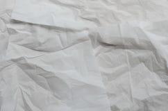 скомканная бумажная текстура Стоковая Фотография RF