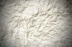 Скомканная коричневая бумага от пакета как текстура предпосылки Стоковое фото RF