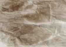 скомканная пакостная бумага Стоковое Изображение RF