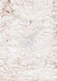 скомканная пакостная бумага Стоковые Фотографии RF
