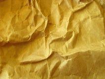скомканная предпосылкой бумага упаковки стоковое изображение rf