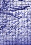 скомканная старая бумага Стоковое фото RF