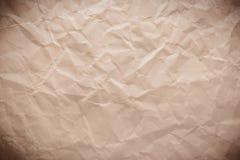 скомканная старая бумага Стоковое Изображение RF