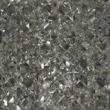 скомканная фольга безшовная Стоковая Фотография