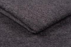 Скомканные предпосылка и текстура ткани Стоковые Фото