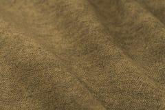 Скомканные предпосылка и текстура ткани Стоковые Изображения RF