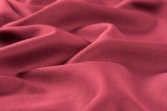 Скомканные предпосылка и текстура ткани Стоковое Фото