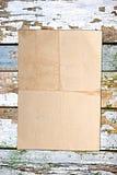 скомканный бумажный сбор винограда Стоковая Фотография RF