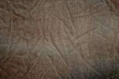 Скомканный винтажный бархат Стоковая Фотография RF