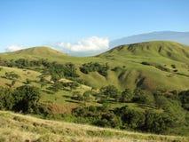 скомканный гаваиский ландшафт Стоковое фото RF