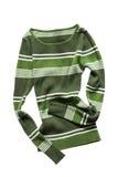 Скомканный изолированный пуловер Стоковое Фото