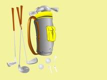 скопируйте гольф tools3 Иллюстрация вектора
