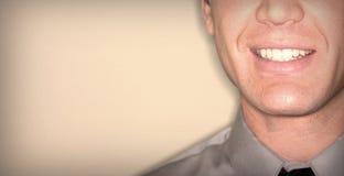 скопируйте космос усмешки Стоковое Изображение RF