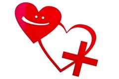 Скорая помощь влюбленности Стоковые Изображения RF