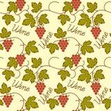 Скороговорка виноградин безшовная плоская стоковые фото