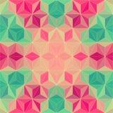 Скороговорка мозаики вектора абстрактная Стоковые Фотографии RF