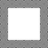 Скороговорка с мозаикой излучать линии Monochrome предпосылка Стоковые Изображения