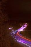 скоростная дорога сюрреалистическая Стоковое Изображение