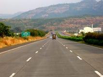 скоростная дорога Стоковое Изображение