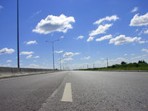 скоростная дорога Стоковые Изображения