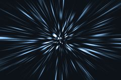Скоростная нерезкость быстрого движения двигая к будущей концепции стоковое изображение