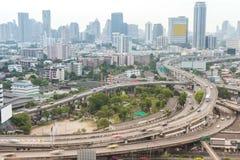 Скоростная дорога Бангкока, Таиланд Стоковые Фотографии RF