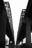 скоростное шоссе моста Стоковые Изображения