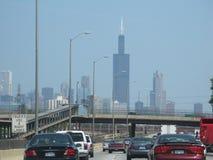 Скоростное шоссе Чикаго Стоковая Фотография