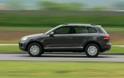 Скоростное SUV Стоковое Фото