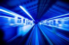 скоростные поезда Стоковое Изображение RF