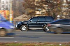 скорость автомобиля Стоковые Фотографии RF