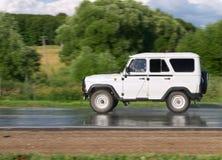 скорость автомобиля Стоковая Фотография RF