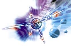 скорость воздушных судн высокая Стоковые Фотографии RF