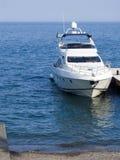 скорость высокого моря шлюпки Стоковые Фото