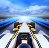 скорость высокой дороги bolide стоковое фото